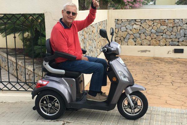alquilar una scooter para discapacitado