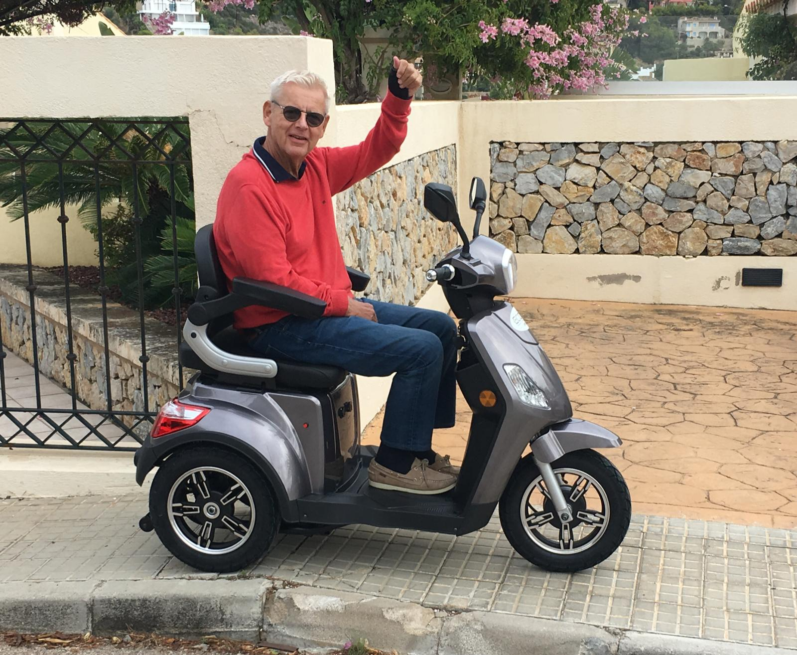 Mobility scooter rental in Mallorca